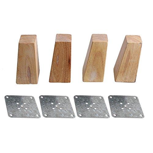 Eiche Holz Möbel Beine Couch Dresser Sessel Füße. -