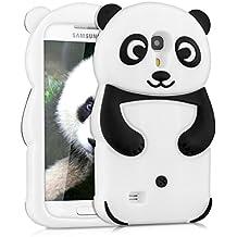 kwmobile FUNDA DE SILICONA Diseño Panda para Samsung Galaxy S4 Mini - Un diseño elegante y una protección óptima
