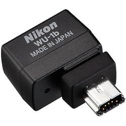 Nikon WU-1B WLAN Adapter Carte Réseau et Adaptateurs USB, Compatible Norme Wifi 802.11b, Compatible Norme Wifi 802.11g