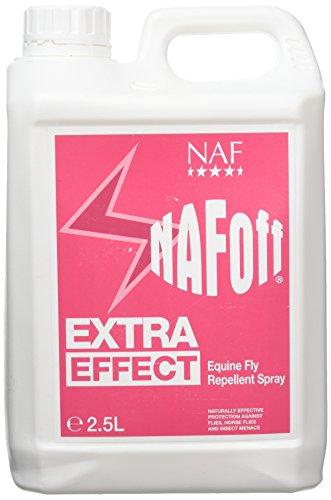 Natural Animal Feeds Naf Off Extra Effect - Spray repelente de moscas para caballos Talla:2.5L