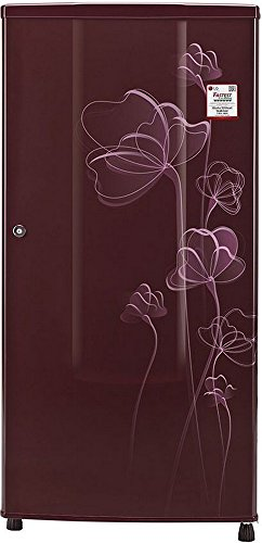 LG 185 L 1 Star Direct-Cool Single Door Refrigerator (GL-B181RSHU.ASHZEBN, Scarlet Heart)  available at amazon for Rs.11800