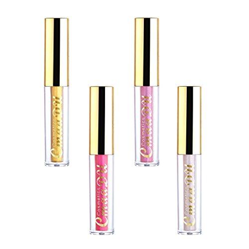 D DOLITY 4 Couleurs Surligneur de Beauté Hydratant Eclaircissant Fond de Teint Liquide Correcteur Foundation Maquillage Cosmetique