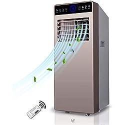 WSN Climatiseur Froid,Ventilateurs intelligents pour la climatisation de Bureau à Domicile Individuel 1.5 P climatisation Portable Télécommande de réfrigération Pratique