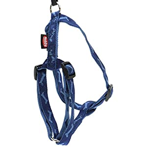 Nobby Harness Soft Bone, 14 - 20 cm, Blue