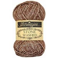 Scheepjes Stone Washed (822) Brown Agate