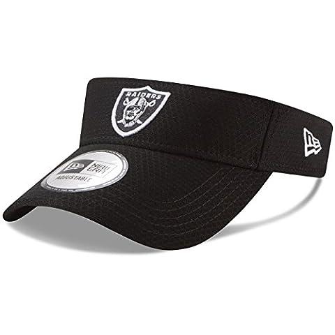 New Era Oakland Raiders 2017NFL d'entraînement Visière