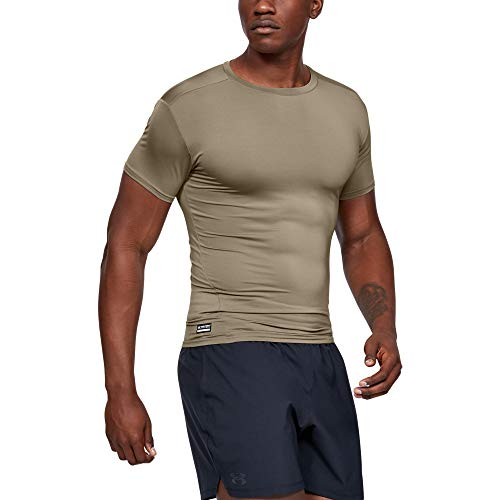 Under Armour Herren Top HG Sonic Compression' Kurzarmshirt, Federal Tan (499), MD