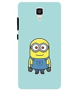 Astrode Printed Designer Back Case Cover For Xiaomi Mi 4