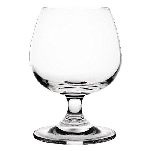 Olympia GM577Kristall Brandy-Glas, 255ml (6Stück) Crystal Brandy Glass