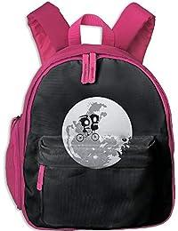 A Child Riding On The Earth Toddler Kids Pre School Bag Cute 3D Print Children School