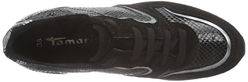 Tamaris 23620 Damen Sneakers Schwarz (BLACK COMB 098)