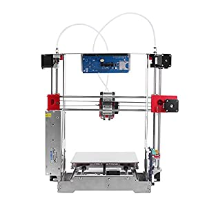ZONESTAR P802QR2 i3 Metal FDM 3D Printer DIY Kit Dual Extruder Dual Color Printing Support Auto Leveling Resume Upgrade Large Printing Size 220 * 220 * 240mm White PLA Filament