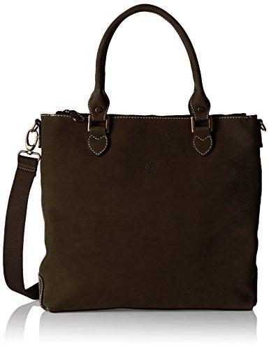 Timberland Women    s Tb0m2916 Handbag  Brown  Black Coffee   One Size