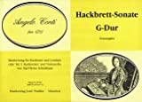 SONATE G-DUR - arrangiert für Hackbrett - Cembalo - / - zwei Hackbretter - Violoncello [Noten / Sheetmusic] Komponist: CONTI