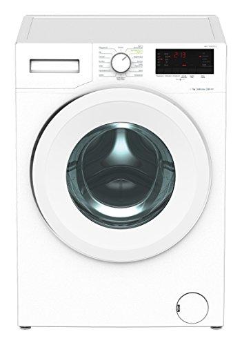 Beko WMY 71433 PTLE Waschmaschine / A+++ / 171 kWh / 1400 UpM / 7 kg / Watersafe / weiß / Pet Hair Removal / Mengenautomatik / XL-Tür mit 34 cm Einfüllöffnung