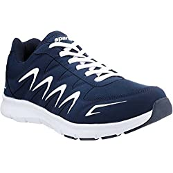 Sparx Men's Navy, Blue and White Running Shoes (Sm-276) (7 UK)