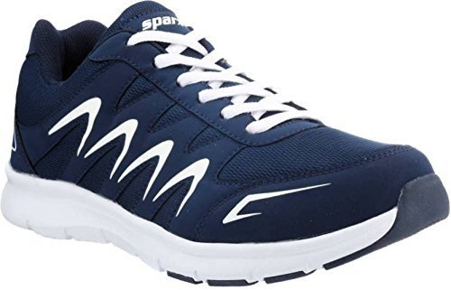 Sparx Men's Navy, Blue and White Running Shoes (Sm-276) (9 UK)