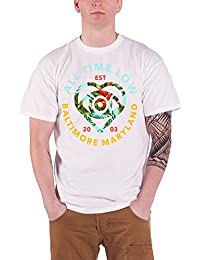 All Time Low Vacation future Hearts officiel Homme nouveau Blanc T Shirt