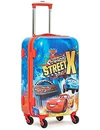 GAMME Disney Car Pixar Polycarbonate 55 cms Red Hardsided Cabin Luggage (GD16RGT003)