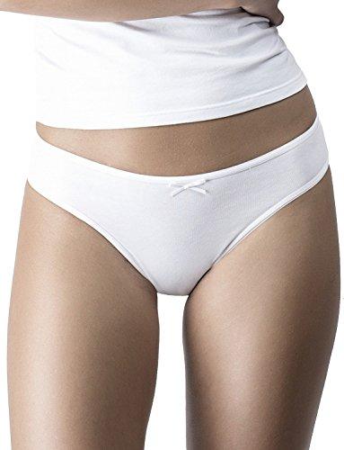Uniconf Damen Bikinislip 5er Pack Baumwolle Mehrfarbig