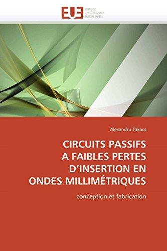 Circuits passifs a faibles pertes d insertion en ondes millimétriques par Alexandru Takacs