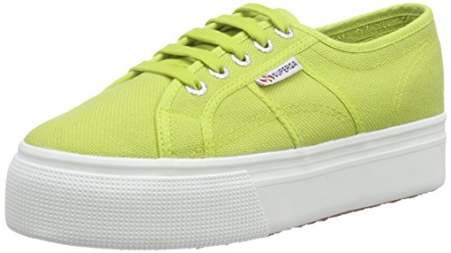 Superga 2790 Acotw Linea Up and Down, Baskets Basses Femme Vert - Grün (C28)