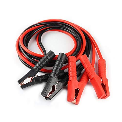 DDG EDMMS 1000 A Automobile Jumper Cables Heavy Duty Câbles de démarrage pour Voiture, Van, Camion 7,2 Pieds (2.2meters)