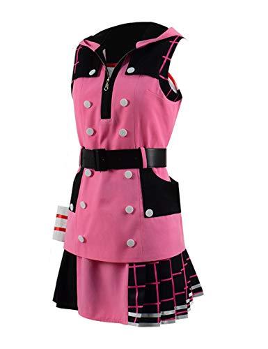 Zhangjianwangluokeji Kairi Kostüm Cosplay Kleid Full Set Pink für Frauen (M, Stil 1) (Kairi Cosplay Kostüm)