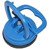 MINI-Glassauger, Gummisauger, Saugnapf ø 55 mm (kleine Einhand-Saugheber) z.B. für Imacs Frontscheiben etc. BLAU