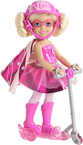 Barbie-CDY68-CDY69-Chelsea-mit-Roller