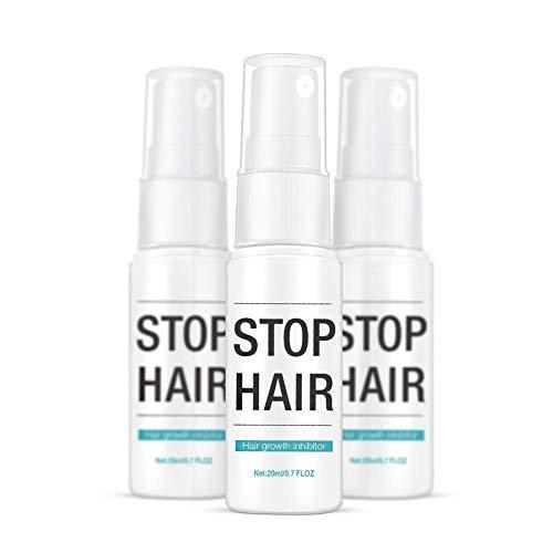 Haarentfernungsspray gegen Haarinhibitoren Mildes Haarspray zur Unterdrückung des Haarwachstums, das überall im Körper angewendet wird -