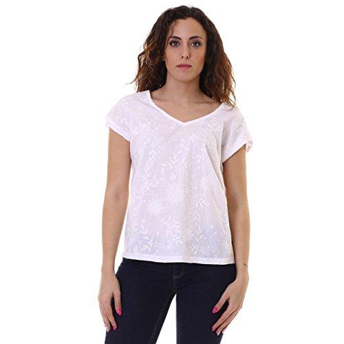 NAPAPIJRI T-shirt de femmes m de / c N0YG2A176 SHALVINA Bianco