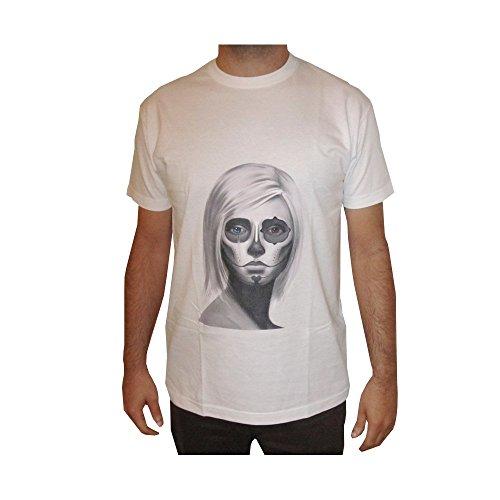Das T-Shirt der Männer Catrina Entwurf. 100% Baumwolle (M)