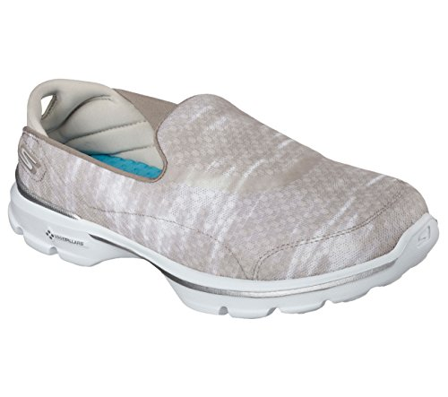 Skechers Gowalk 3 Swell Slip On Taupe