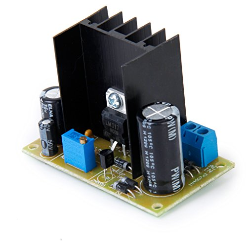 Gazechimp LM317 AC/DC Input Converter Power Supply Modul Spannungsregler Stromversorgung Modul Einstellbar Linearregler (Ac Input Power Module)