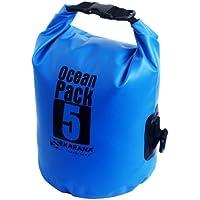 Karana Ocean Dry Pack Day Waterproof Travel Kayak Bag 5 Litre 5L Blue