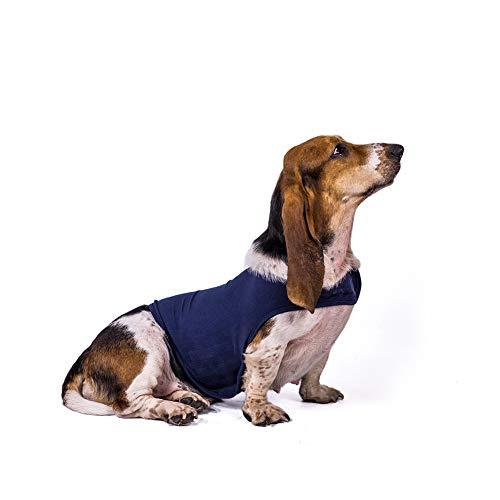 Chaqueta para Perro contra La Ansiedad, Ropa para Calmar Perros Ropa para Mascotas, Abrigo Liviano para La Ansiedad con Envoltura, Traje De Chaleco Que Calma Suave,M