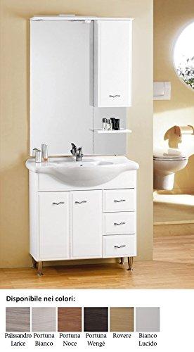 mobile da bagno moderno con lavabo e specchio Fox 85 Per ...