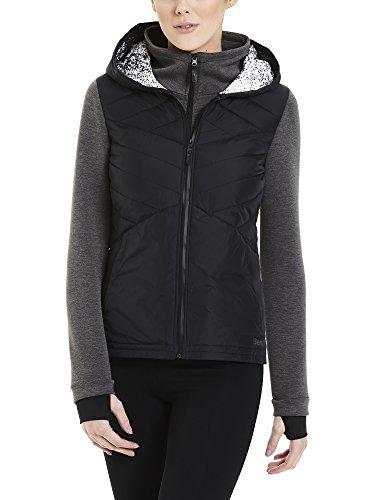 Bench Damen Sportsweatshirt Overhead Hoody, Schwarz (Black Beauty), XS