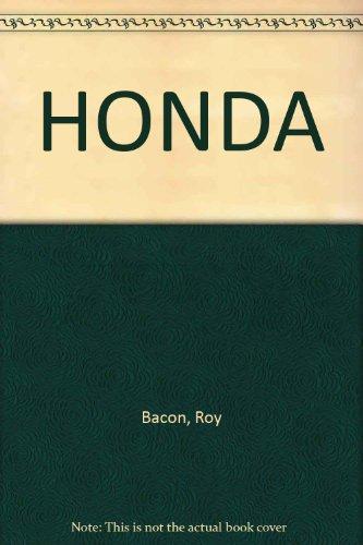 HONDA par Roy Bacon