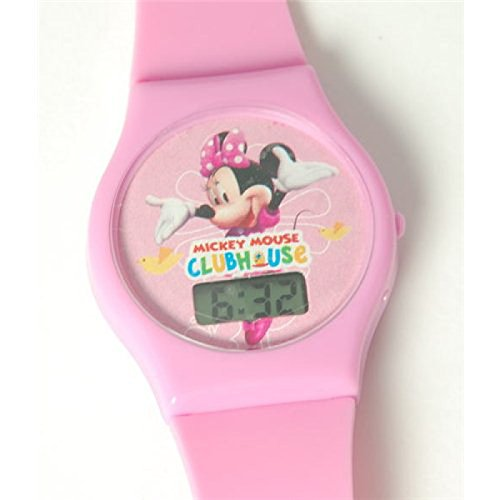 montre-disney-rose-minnie-mouse-club-house-digitale