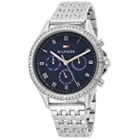 Tommy Hilfiger Women's Quartz Watch, Chronograph Display and Stainless Steel Strap 1782141