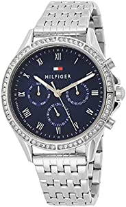Tommy Hilfiger Women's Quartz Watch, Chronograph Display and Stainless Steel Strap 178