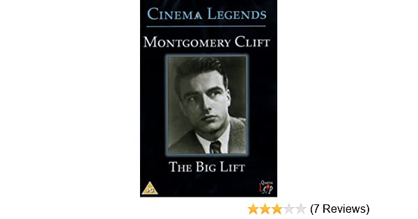 The Big Lift 1950 Dvd By Montgomery Clift Amazonde