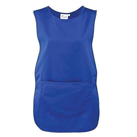 New Premier Workwear Tabard Side Tabs Adjustable Apron W/ Large Patch Pocket