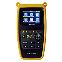 Satlink WS-6933 DVB-S2 FTA C and KU Band Digital Satellite Finder Meter wtih Compass