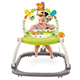 Marcheur d'activités Baby Steps Baby Walker Jumper Music Light Facile à Plier 2 en 1 Baby Walker avec Plateau réglable Hauteur du siège Activité Walker Enfants Enfants Jouets Amusants