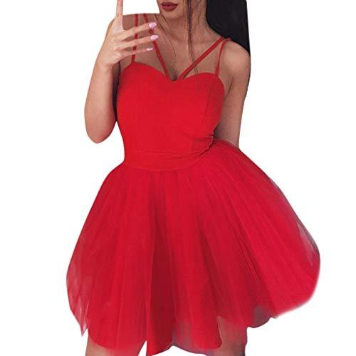 Geilisungren Ballett Tütü Kleid Damen Ballettkleid Träger Spaghetti Ballettanzug mit Tütü Rock Ballett Trikot Tanzanzug Tanz Kostüm Leotard Sets High Waist Prinzessin Tutu ()