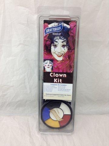 Auguste Clown Makeup Kit by Graftobian