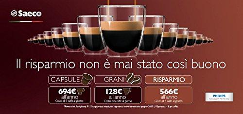 Saeco HD8761/01 Minuto Kaffeevollautomat, klassischer Milchaufschäumer, schwarz - 12